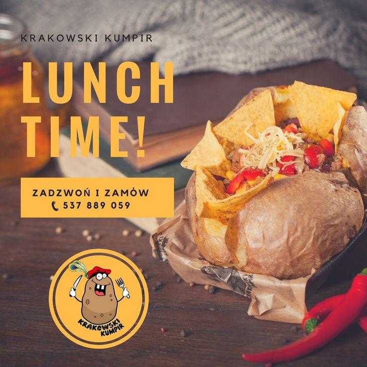 LUNCH TIME! MENU ☛ http://krakowskikumpir.pl/menu/ ☚ ZAMÓWCIE KUMPIRA ONLINE, a my Wam go przywieziemy ☛ http://krakowskikumpir.pl/zamow-online/ ☚  #krakowskikumpir #kumpir #bar #pieczonyziemniak #ziemniak #potato #bakedpotatos #kraków #krakow #rzeszów #rzeszow #warszawa #lunch