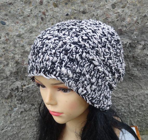 knit hat slouchy women  beanies hat  Slouch Beanie  by Ifonka