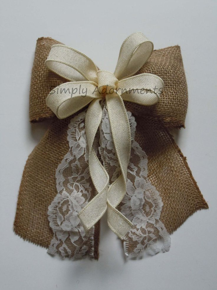 1000 ideas about wedding chair bows on pinterest for Burlap designs