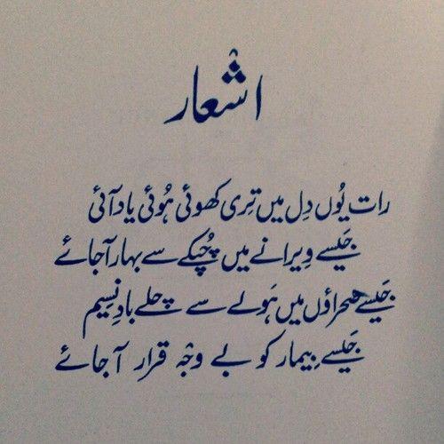 Raat Yun Dil Mein Teri.. Faiz Ahmed Faiz