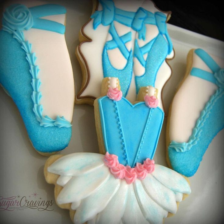 """441 Likes, 21 Comments - sugar cravings (@sugarcravings) on Instagram: """"Pretty blue ballerina details. Just a few from a larger set made for sweet Meryl's 15th birthday.…"""""""