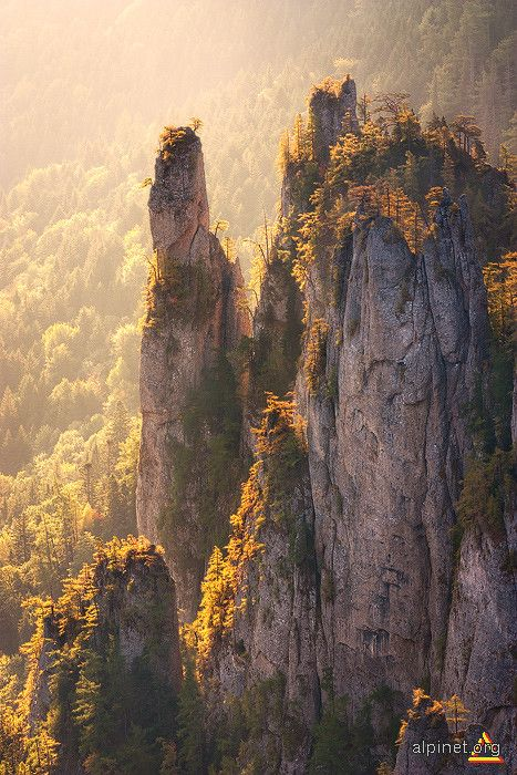 "Ceahlau Mountains, Romania / There are many legends about the Ceahlău Massif and speculations regarding its possible reverence for the ancient Dacians; as a consequence it is often called ""The Romanian Olympus."""