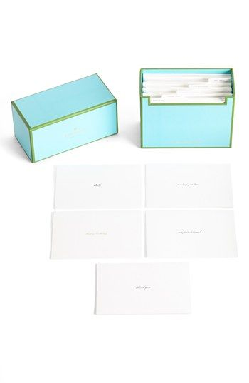 kate spade new york 'all occasion' note cards (set of 15) available at #Nordstrom