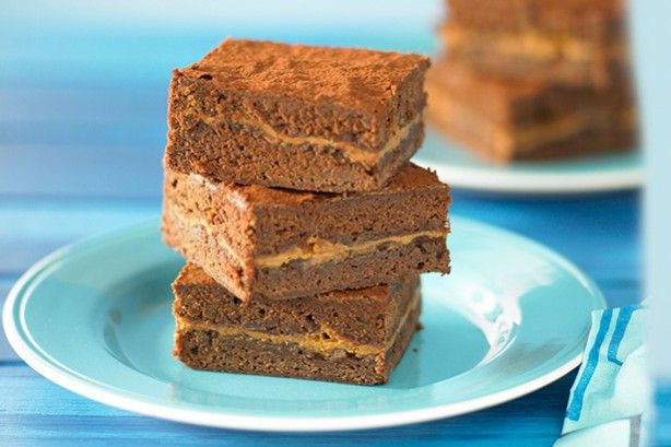 Eveybody loves a choc-caramel brownie slice, so why not try your hand at this easy recipe?
