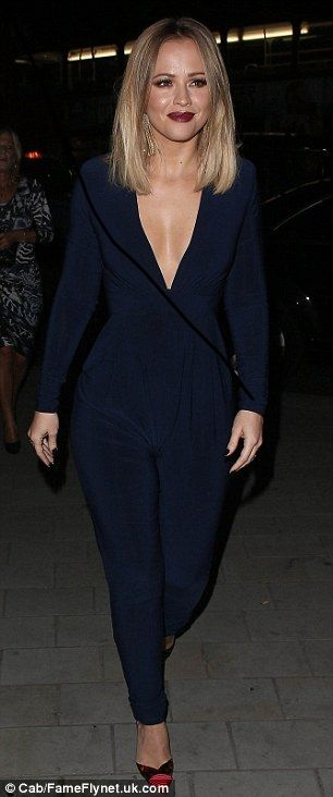 Kimberley Walsh jumpsuit                                                                                                                                                                                 More