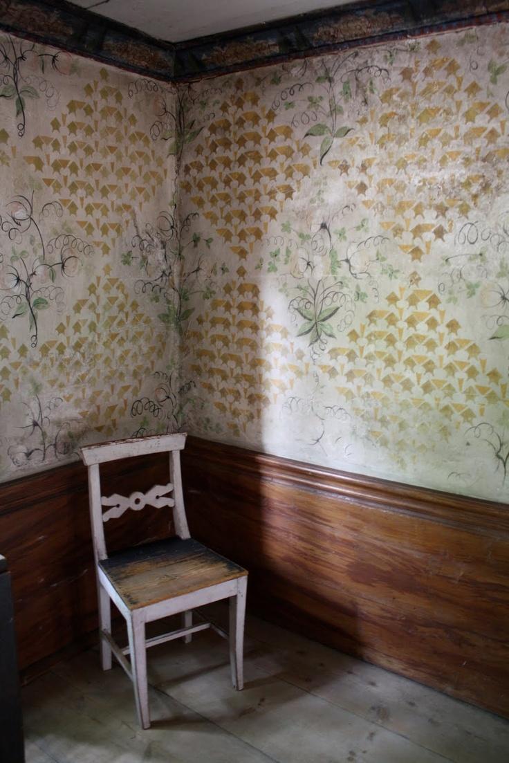 vintage swedish wallpaper