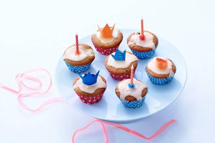 Allerhande; Oranje-frambozencupcakes