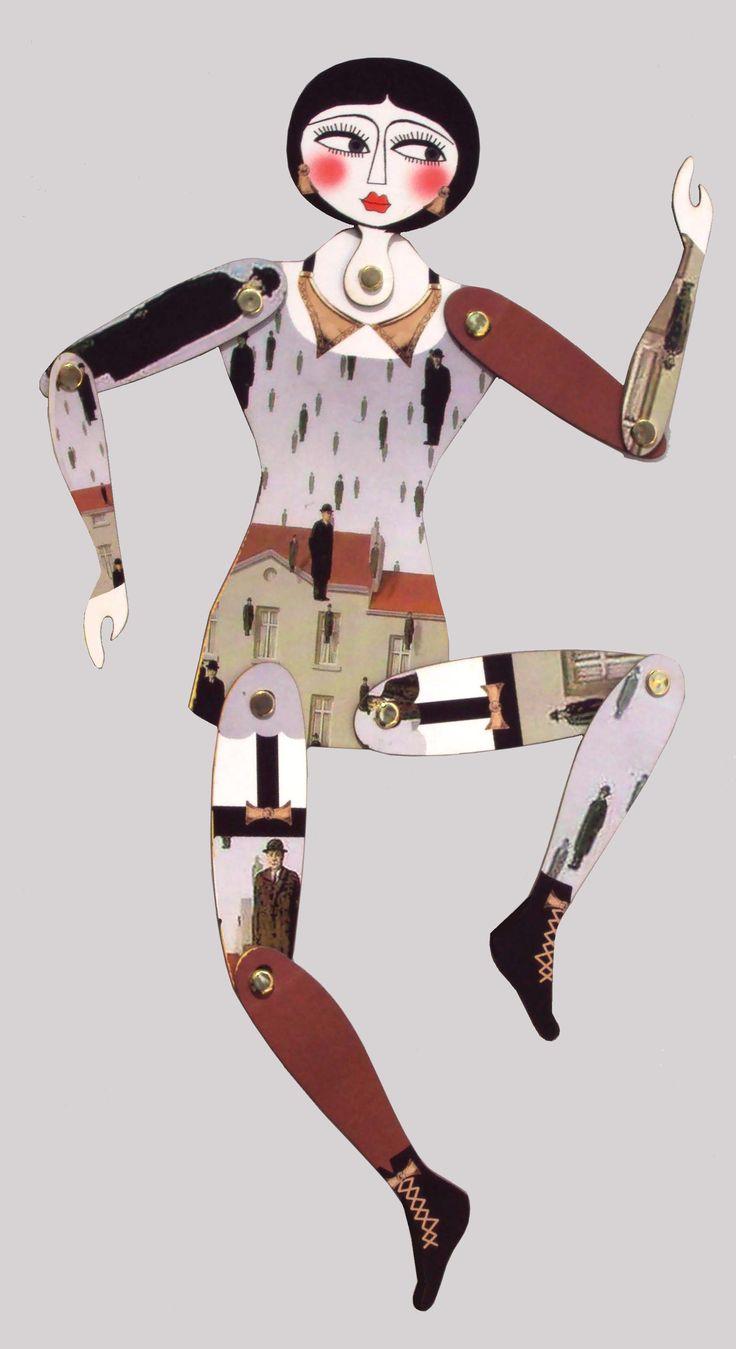 vestida x Magritte