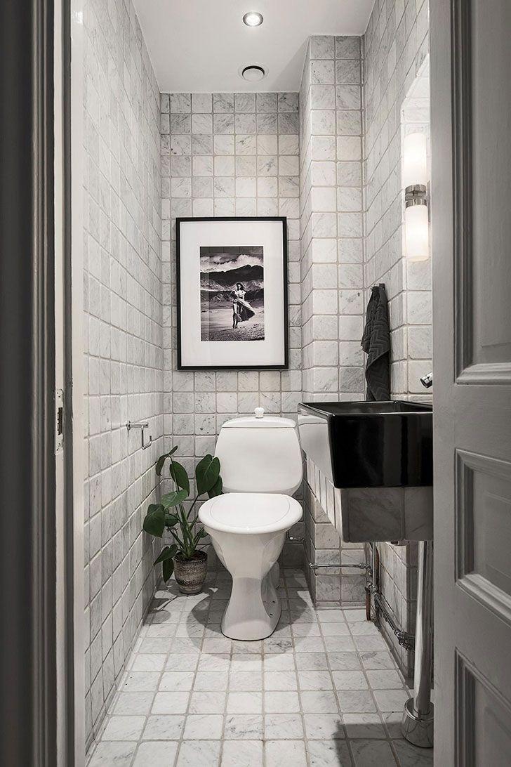 Inredning gästtoalett inspiration : 25+ bästa Liten toalett inspiration idéerna pÃ¥ Pinterest | Toalett ...