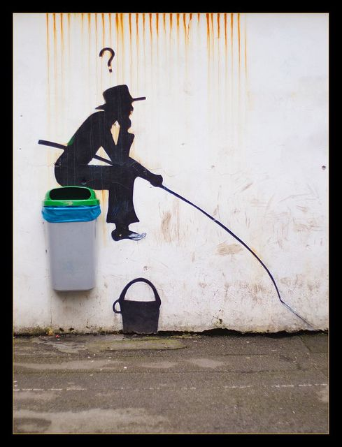 Riqualificazione ambientale.  Street art 000