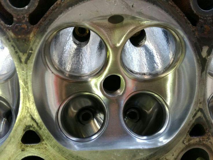 Gas flow and big valve conversion amarok tsi car engine