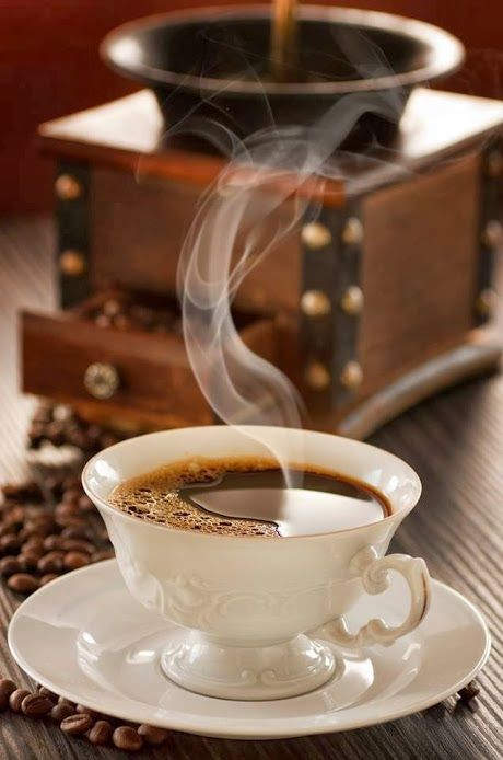 Cheirinho de café pela casa... Tudo de bom!