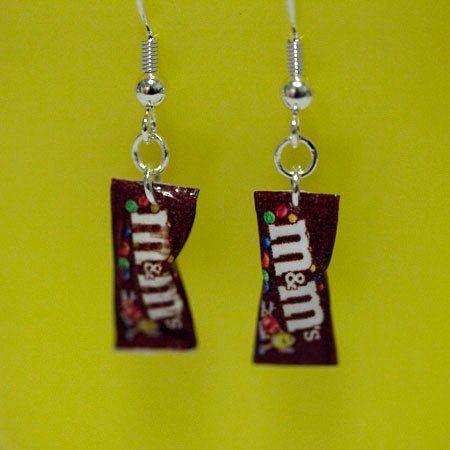 Kawaii Miniature Food Earrings  MINI M by fingerfooddelight, $11.00