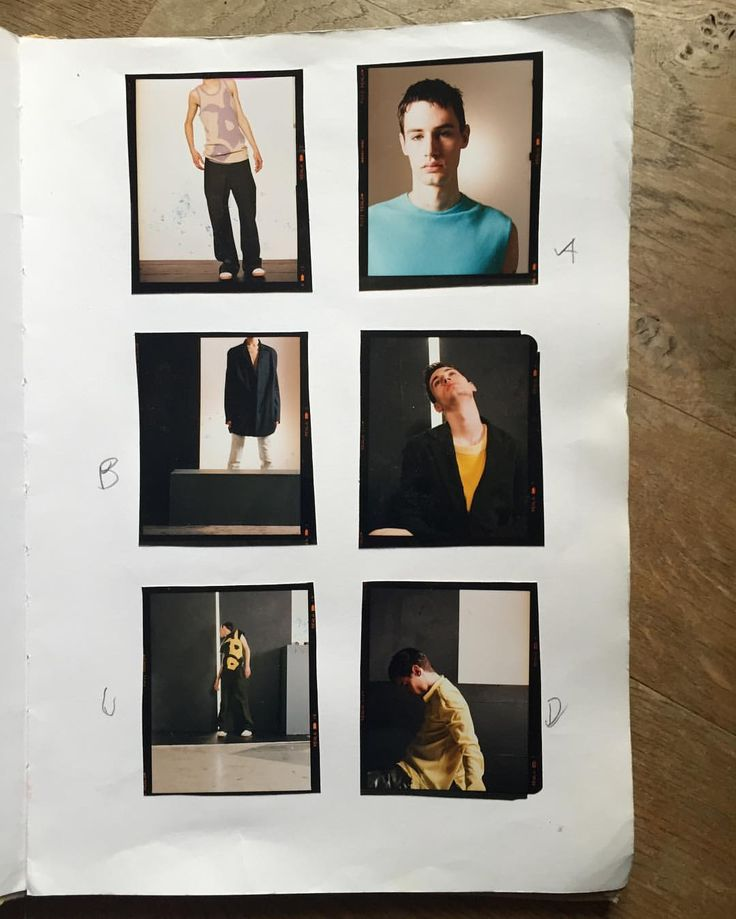 "43 Likes, 3 Comments - Gary Wallis (@wallispictures) on Instagram: ""Been going through old sketchbooks today. Still like this old #menswear shoot #archive #90s…"""