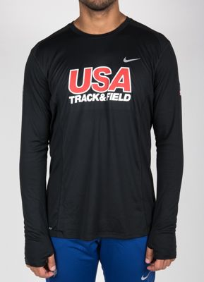 Product image: Nike USATF Men's Miler Long Sleeve