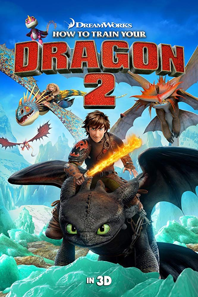 How to Train Your Dragon 2 (2014) | Films - Animated in 2019 | How