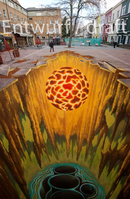Best Street Chalk Art Images On Pinterest Close Up Facts - 17 amazing works of 3d street art
