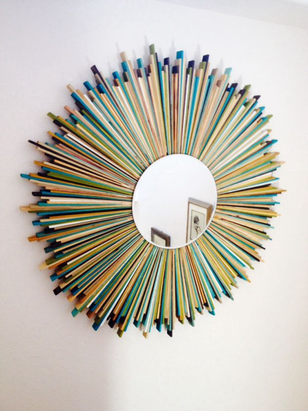 Pin By Kathy Monkman Higham On DIY Sunburst Mirror