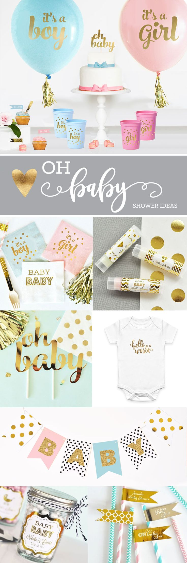 Baby shower ideas gold baby shower theme decorations baby shower banner baby shower
