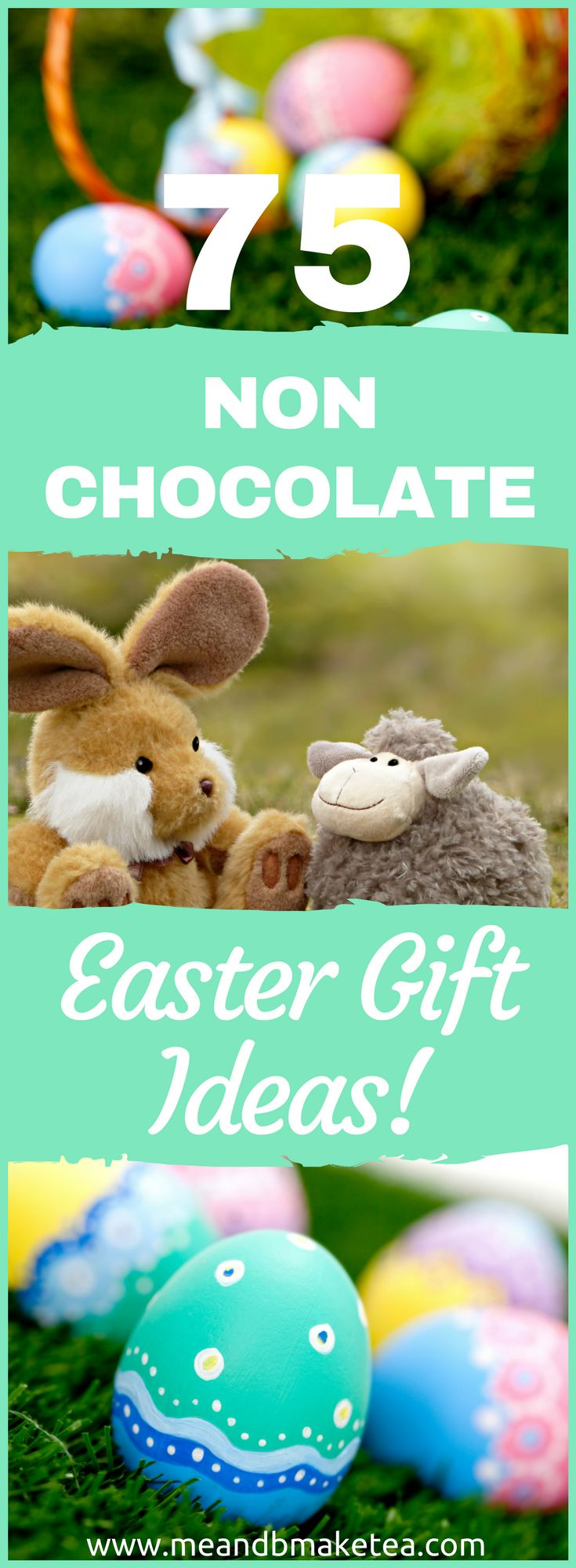 75 Best Non Chocolate Gift Ideas for Kids this Easter! Yep, no sweets, no candy, no chocolate - but super fun gift ideas for Easter!    Today on the blog I'm sharing a fun post featuring some of my favourite non-chocolate Easter gift ideas. Yep, you can have fun without chocolate. Who knew?!
