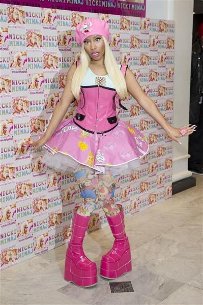Nicki Minaj    Age: 29    Estimated Net Worth: $14 million