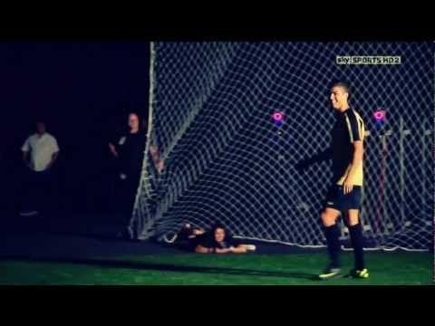 Christiano Ronaldo bliver testet i Madrid.