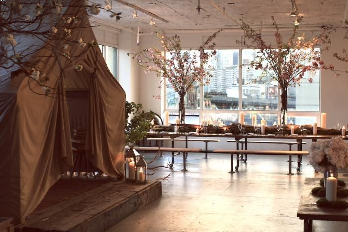 The Silkstone Loft: An Office by Day, a Dining Club by Night : Remodelista