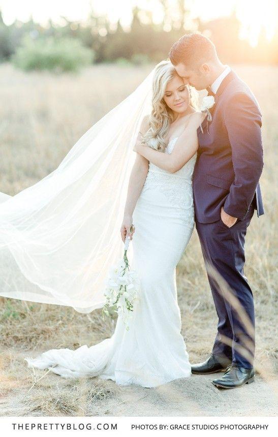 Sunset Love Shoot By Grace Studios Photography | Dress by Casey Jeanne