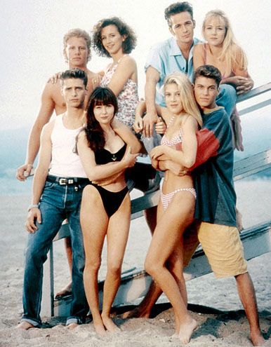 Beverly Hills 90210...THE ORIGINAL! I used to have posters of these people PLASTERED to the walls in my bedroom.