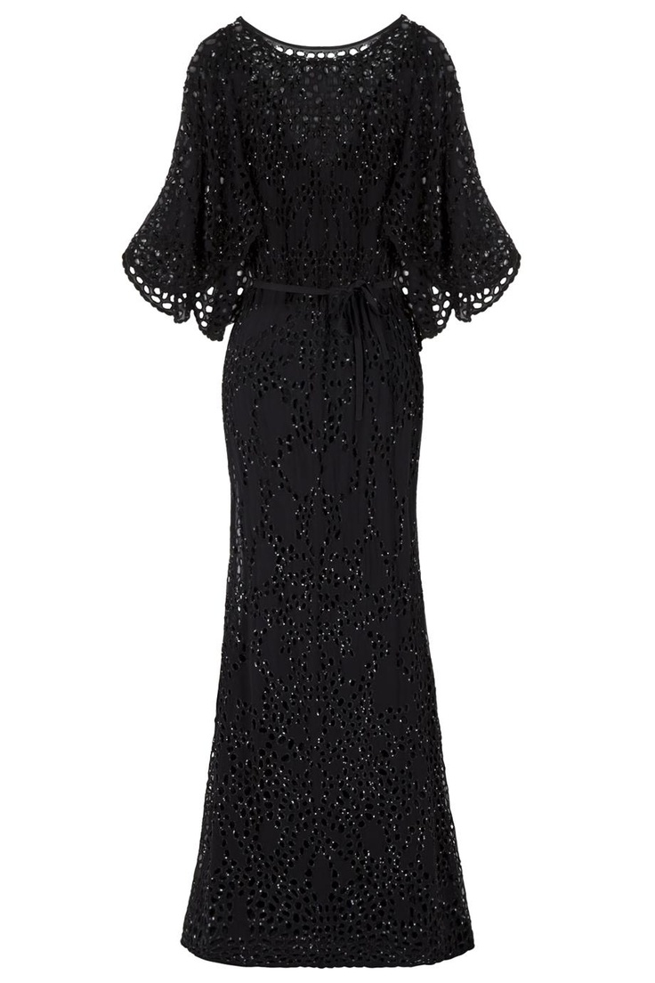 Sequin Broderie Gown - Elie Saab