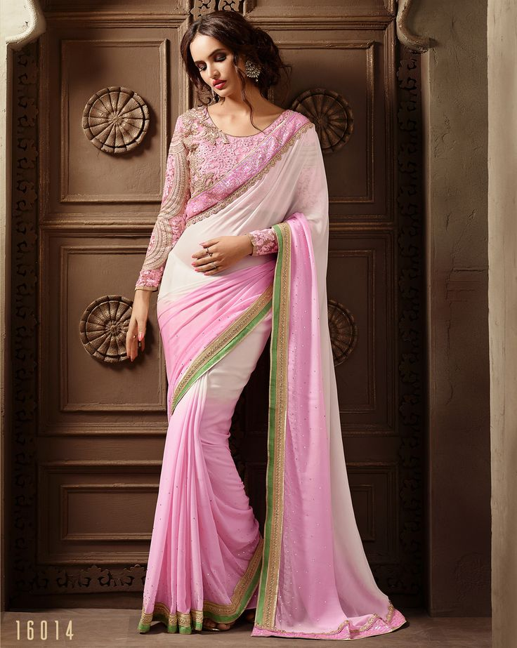 #Lalgulal #LightPink Georgette Embroidery #DesignerBlouse #Partywear Bridemate #Saree. Buy Now :- http://www.lalgulal.com/sarees/light-pink-georgette-embroidery-designer-blouse-partywear-bridemate-saree-689 To Order Visit our Website or You can Call or #Whatsapp us on +91-95121-50402.  #COD & #FreeShipping Available only in India.