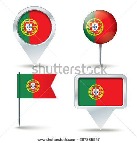 Best PORTUGAL Images On Pinterest Places Travel And - Portugal map flag