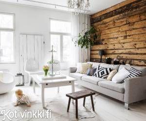 Hirsitalon historiaan kuuluvat kauppa ja museo, nyt talo on nelihenkisen perheen koti – katso tunnelmallinen sisustus! | Kotivinkki