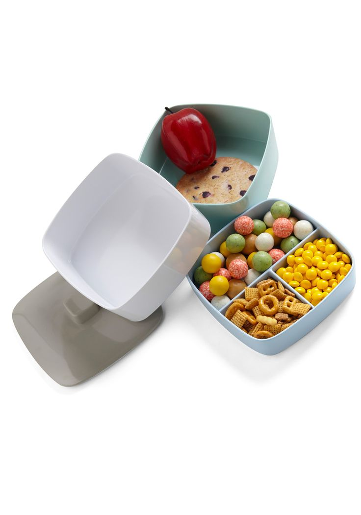 Tasty Trio Tiffin Box in Light LunchKitchen Gadgets, Lunches Pail, Trio Tiffin, Tiffin Boxes, Lunches Bags, Tasty Trio, Lunches Boxes, Lights Lunches, Kitchens Gadgets