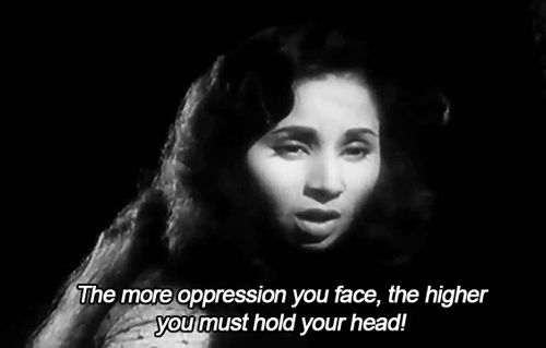 When Geeta Bali refused to break under oppression in Baaz. | 18 Important Times Women Got Very, Very Real In Vintage Bollywood Films