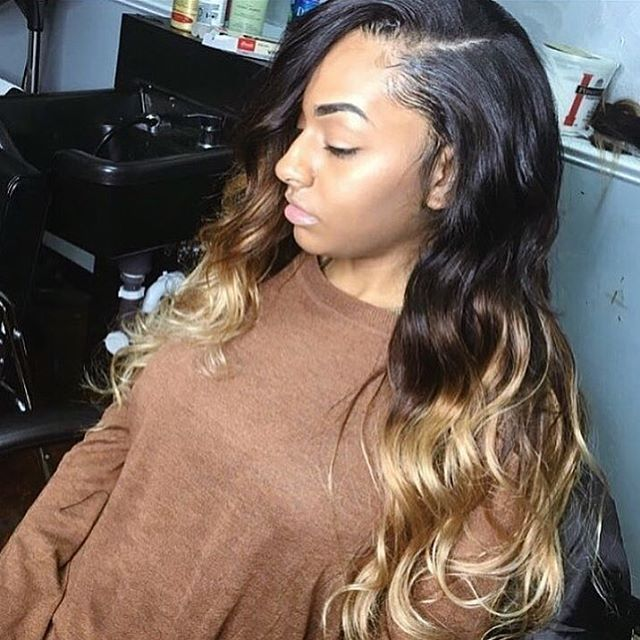 557 best weaves hair extensions images on pinterest hairstyles this traditional sew in done by jazzyjaz93 is so flat click the link in her weave hair extensionsweave pmusecretfo Images