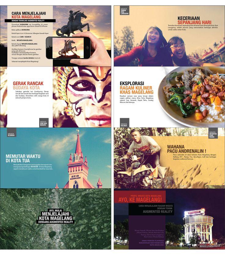 Brosur Augmented Reality Pariwisata KOTA MAGELANG 2015