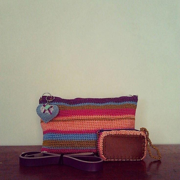 summer clutch/sling bag
