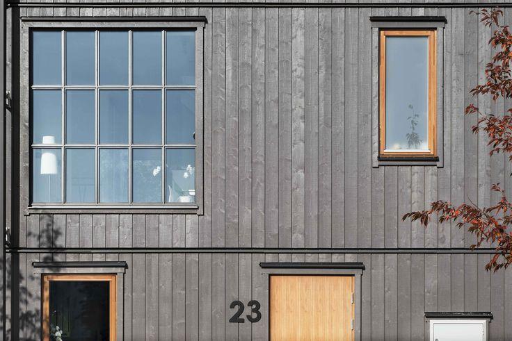 Mörkgrå fasad från BLOOC