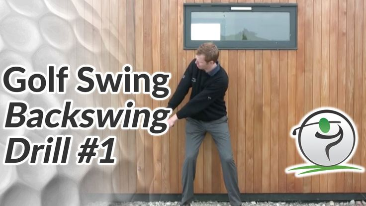 Golf Backswing Drill - Bring the Club Up on the Correct Club Path - YouTube