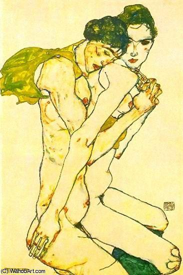 Untitled (2264) de Egon Schiele (1890-1918, Austria)