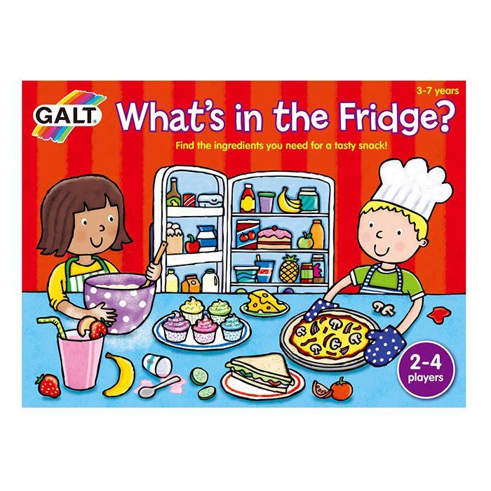 Mi van a hűtőben? memóriajáték Galt