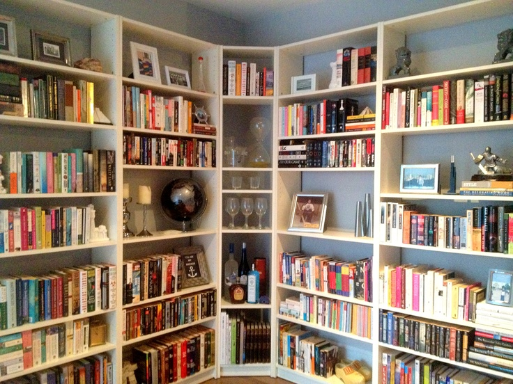 Turn Your Living Room Into A Library With Billy Bookcases