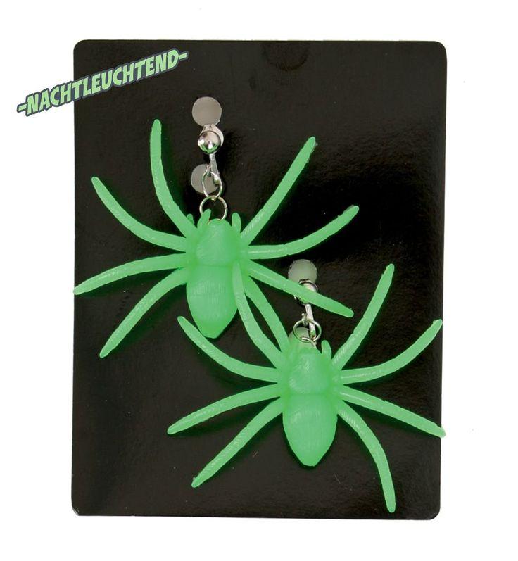 Der Spielzeugtester hat das Spinnen-Ohrringe (grün), nachtleuchtend, Halloween,… – Spielzeugtester