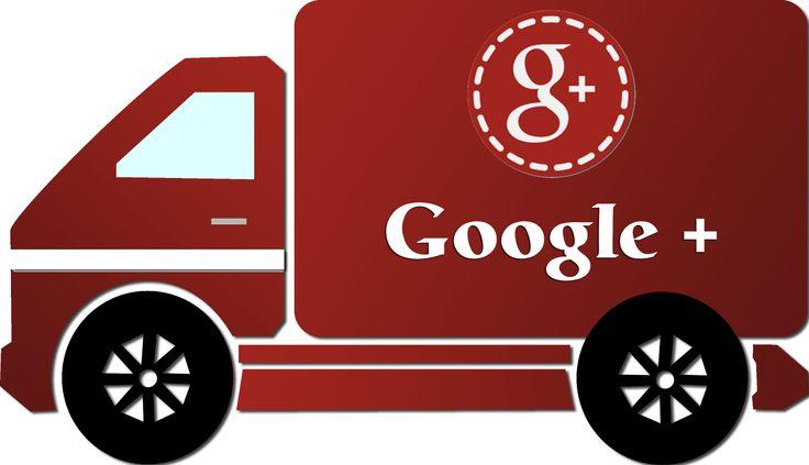 Caminhão Google Plus - Google Plus truck