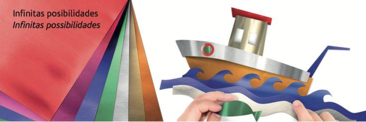 PAPEL ALUMINIO: Papel contraencolado con lámina de aluminio.  El hecho de tratarse de auténtica lámina de aluminio, favorece la impermeabilidad y el moldeado del papel.  Gramaje: 65g.  Gama de 7 luminosos colores.  Presentación en rollos continuos o microperforados, de fácil corte en hojas.  Retractilados individualmente para una mejor protección y conservación.  Indicado para fiestas, celebraciones, disfraces, regalos, decoraciones, manualidades, composiciones, etc