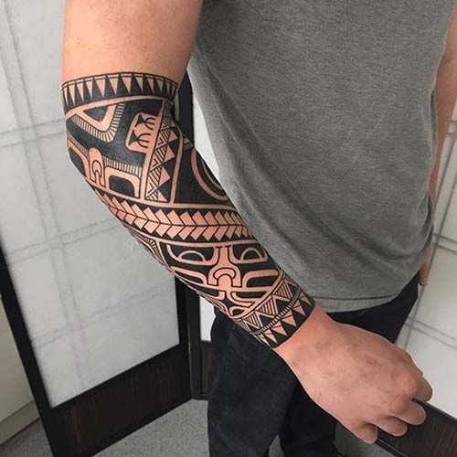 maori tribal dövmeler tattoos 14