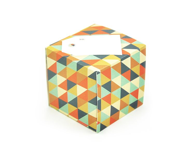 greetabl Triangles (muted) greeting card and gift box, (http://www.kamidori.com.au/triangles-muted/)