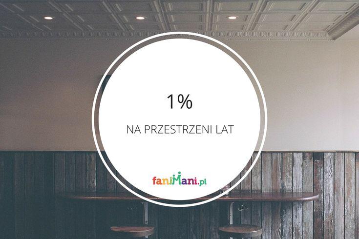 [INFOGRAFIKA] 1% kiedyś a dziś – jak zmieniała się jego historia?