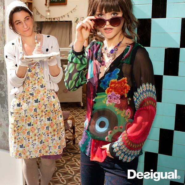 Desigual lightweight blouses!
